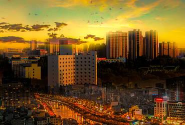 Golden Horizon by JassysART