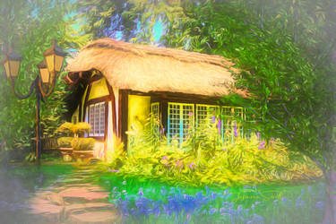 Cottage by JassysART
