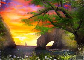 Sunset Dream by JassysART