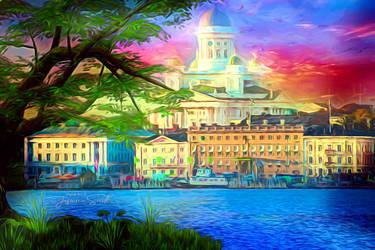 City of Rainbow by JassysART