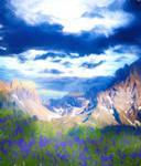 Premium Premade BG Landscape 037