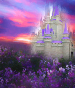 Premium Premade BG Fantasy Castle 002