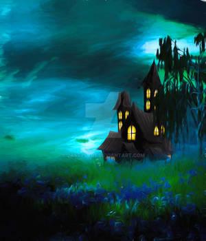 Premium Premade BG Fantasy Castle 005