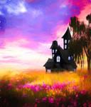 Premium Premade BG Fantasy Castle 006
