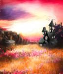 Premium Premade BG Fantasy Castle 008
