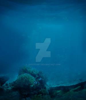 Premium Premade BG Nature Underwater 335