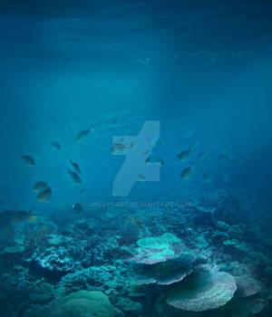 Premium Premade BG Nature Underwater 33565