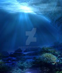 Premium Premade BG Underwater 549