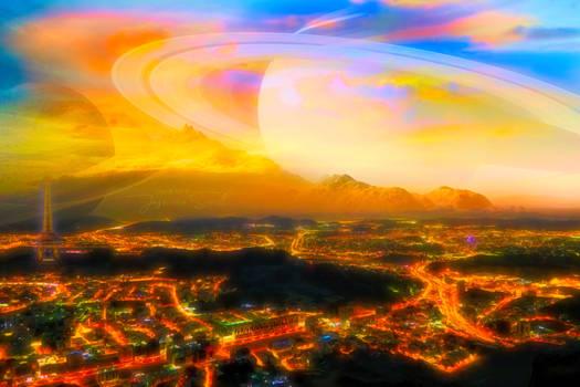 City under Saturn
