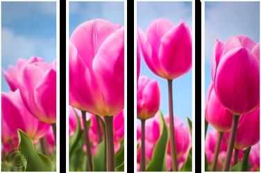 F2u Pink Tullips Decor 034 by JassysART