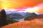 Premade Background Nature Stock 018