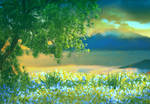 Premade Background Nature Stock 025