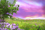 Premade Background Nature Stock 047
