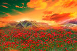 Premade Background Nature Stock 052