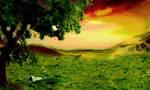 Premade Background Nature Stock 057