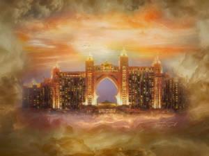 Dream Hotel in the clouds