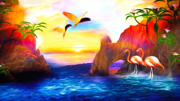 Flamingos Secret Place