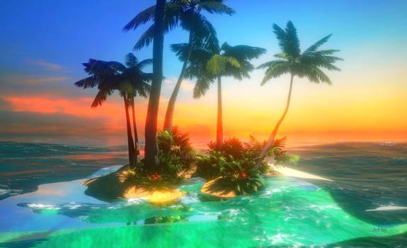 Glowing Island