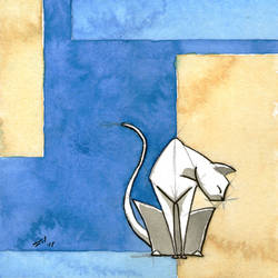 White Cat 1 by rod-roesler