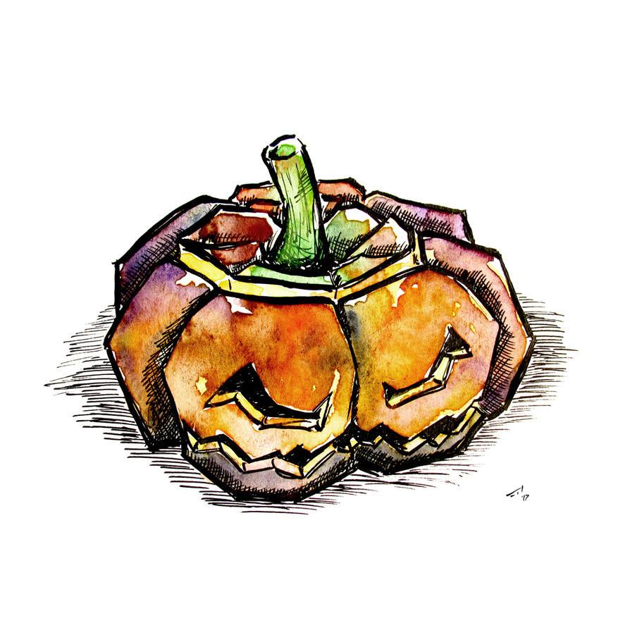 Jack-O'-Lantern by rod-roesler