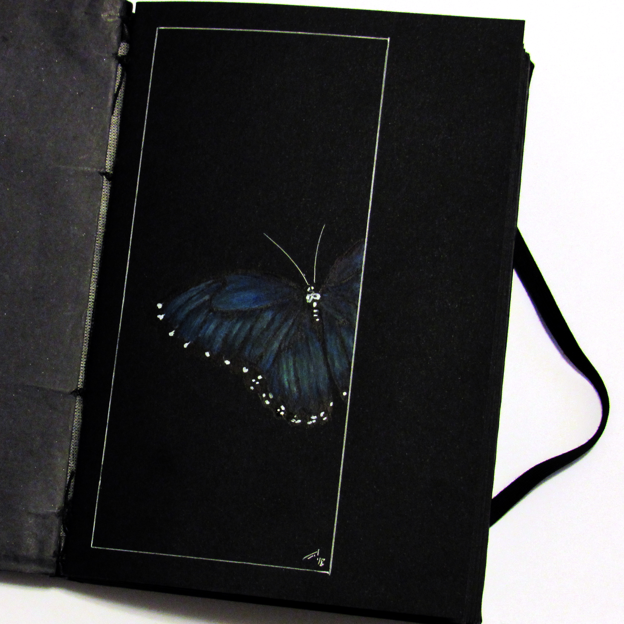 Black Book 01 - Butterfly by rod-roesler