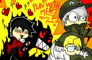 Alucard- PLAY WITH ME by BLACKcat-X