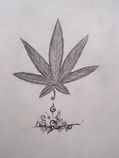 Pot leaf. by OpiumSmiles