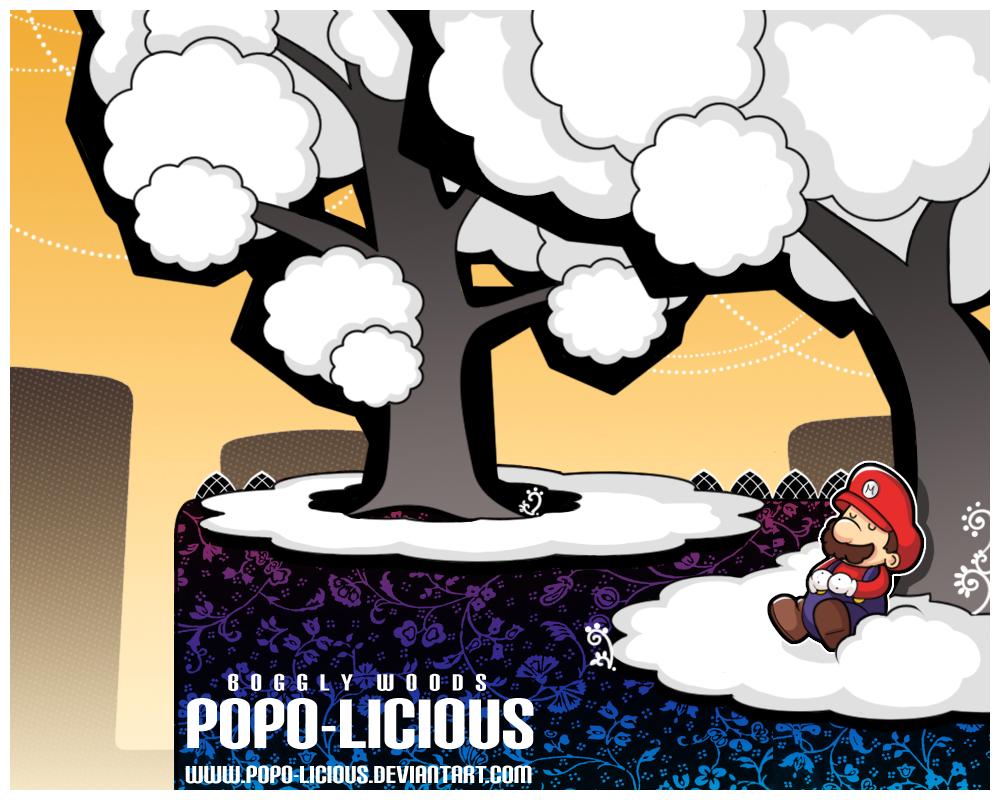 Paper Mario - Boggly Woods