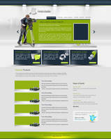 Fresh studio website by REDFLOOD