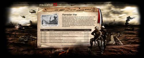 yom kippur war WEBSITE sooooon by REDFLOOD