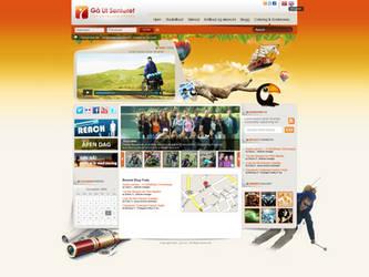 ga ut website by REDFLOOD