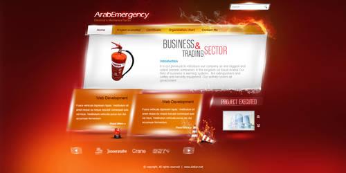 Arab E website by REDFLOOD