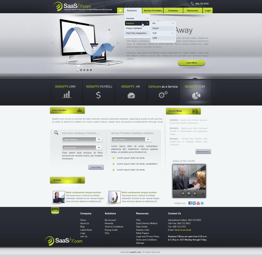 saashr layout for sale by REDFLOOD