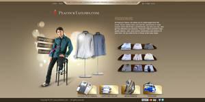 men clothes layout