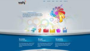 Art company website by REDFLOOD