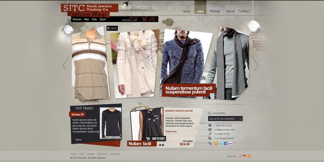 SITC Fashion Clothes by REDFLOOD