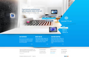 Electronics Systems  website by REDFLOOD