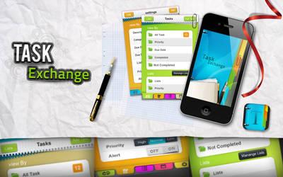 Task Exchange app by REDFLOOD