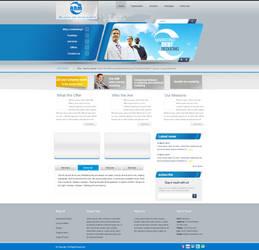 ABM website by REDFLOOD