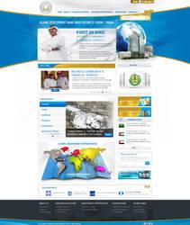 Islamic bank website by REDFLOOD