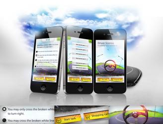 Driver license app by REDFLOOD
