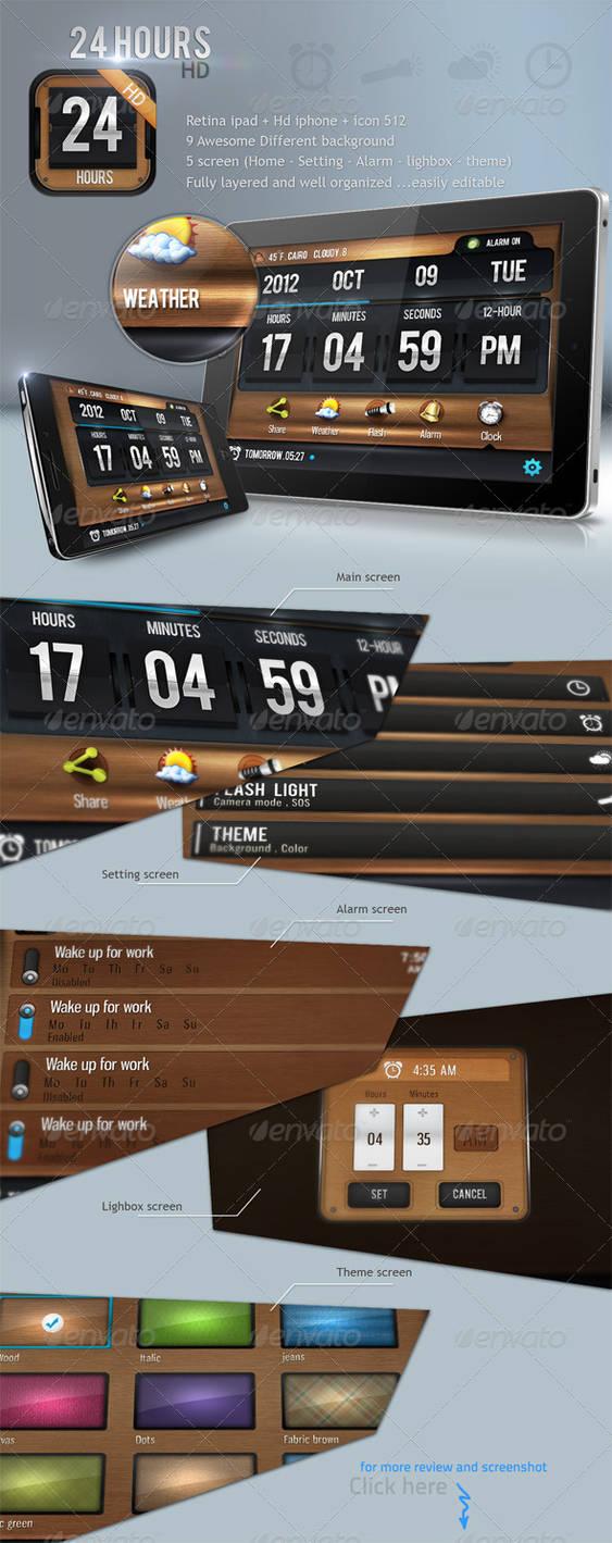 24 Hours HD App Pack