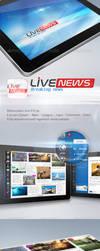 Live news ipad by REDFLOOD