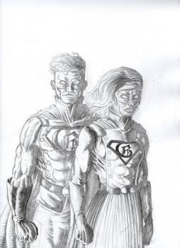 Gotham and Gotham Girl