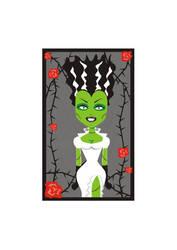 Bride of Frankenstein by AleksandraTorbina