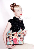 Pin-up Bag by AleksandraTorbina