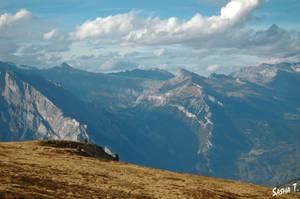 Swiss Alps in autumn VII by AleksandraTorbina