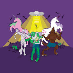 Zombies and unicorns