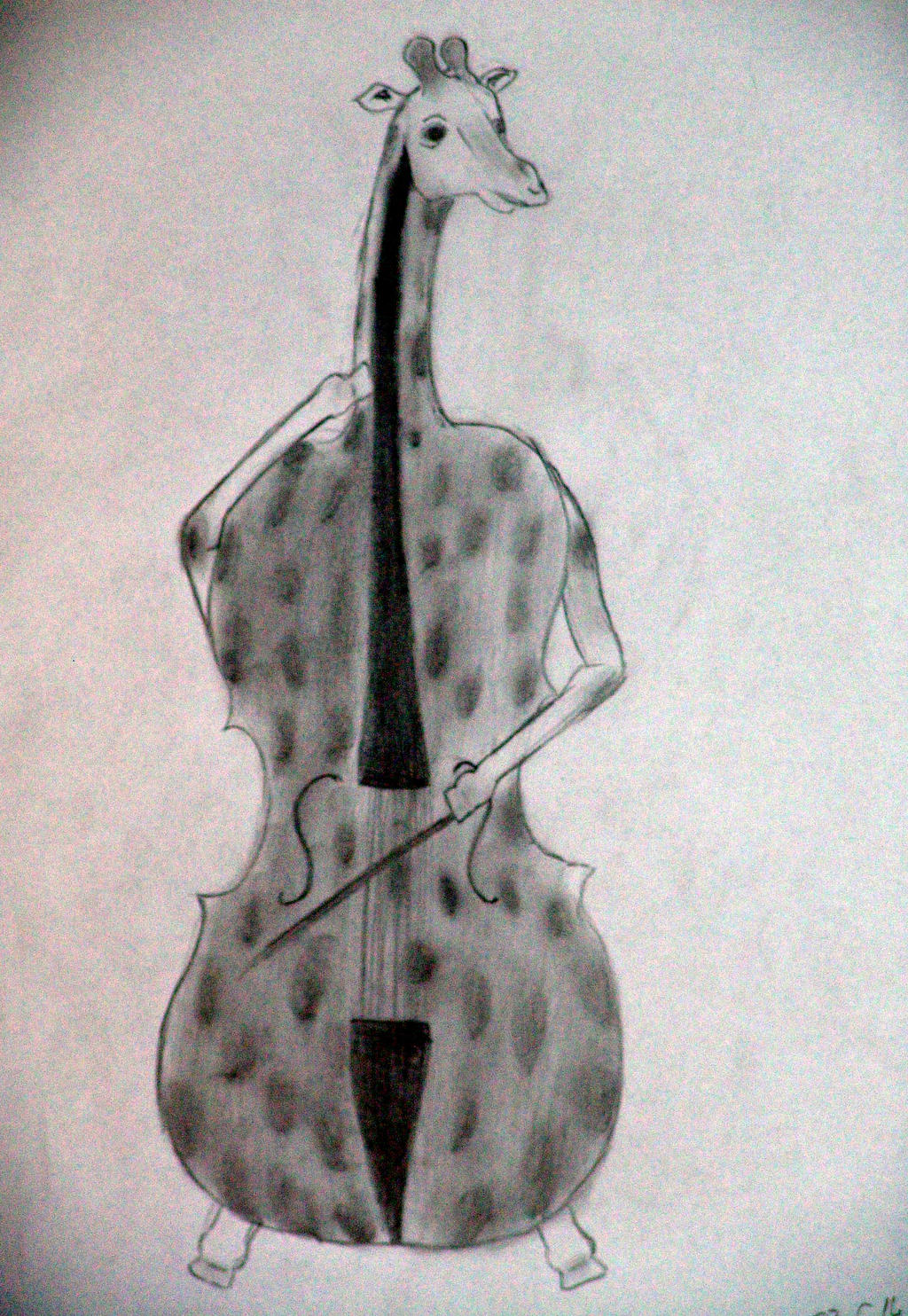 Day 6: Giraffo-Cello by D0mari