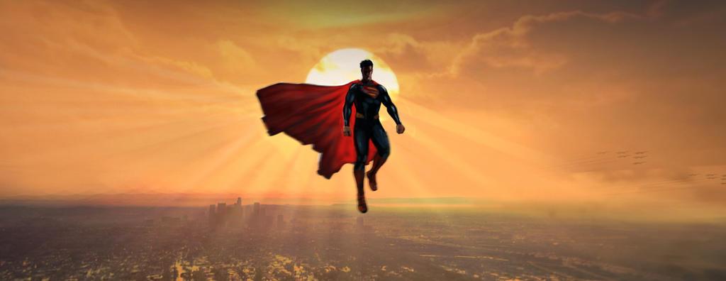 Superman by aaronlam